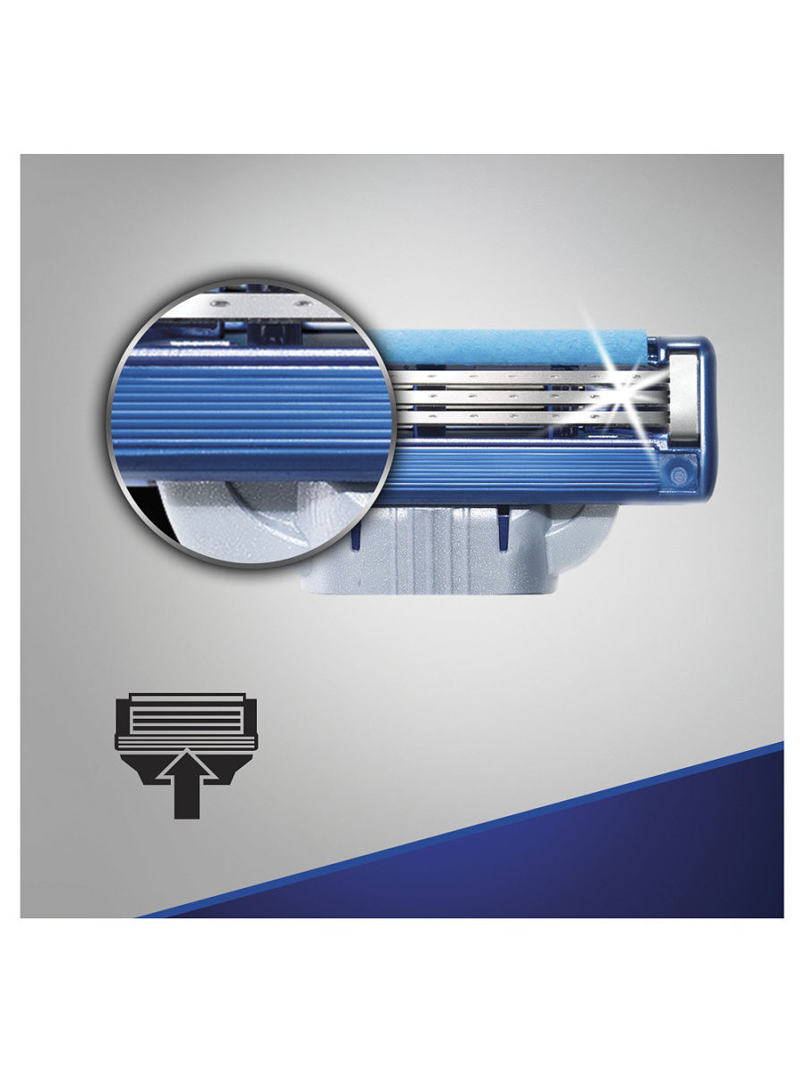Mach3 Turbo комплект (2х8) 16 шт. (Цена за 1 пачку 1000р.)