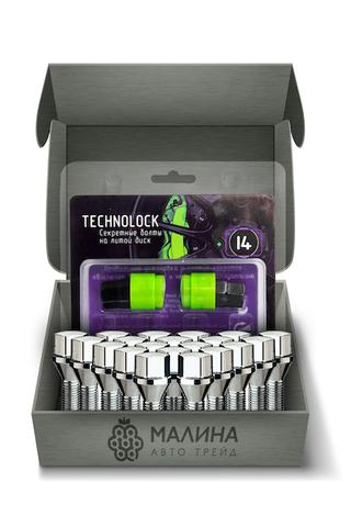 Готовый набор из колёсных болтов М12x1.5 и комплекта секреткок TECHNOLOCK I4