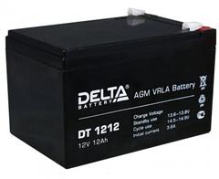 Аккумулятор Delta DT 1212 12В 12Ач