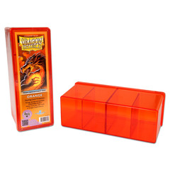 Dragon Shield - Коробочка Four-Compartment Box - Orange на 300+ карт