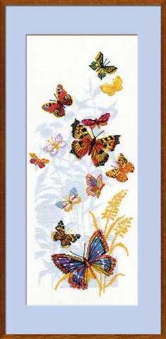 Набор для вышивания крестом «Бабочки России» (902)