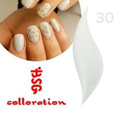 BSG Colloration, №30 Небесный оттенок с золотым шимером