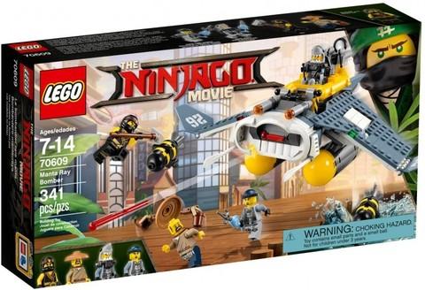 LEGO Ninjago Movie: Бомбардировщик Морской дьявол 70609 — Manta Ray Bomber — Лего Ниндзяго Муви