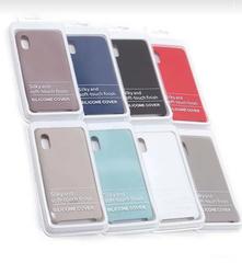 Чехол для Samsung A10 Silicon Cover розовый