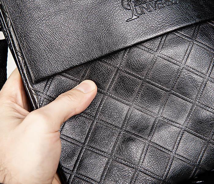 BAG559-1-1 Стильная мужская сумка планшет из кожи фото 06