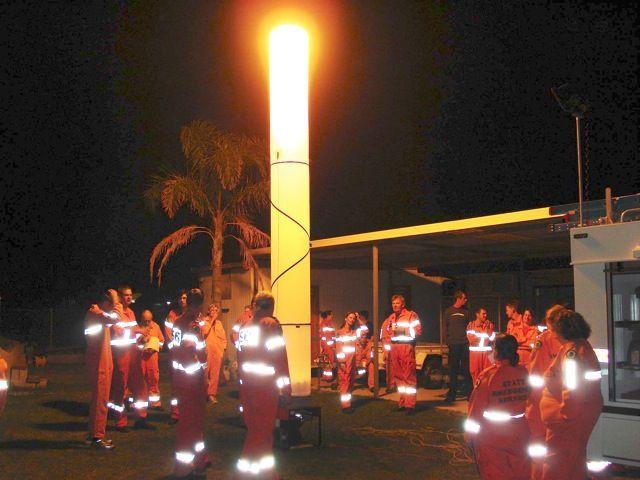 Аварийная осветительная установка «Световая башня» ELG (5) 1000S 2,7GX с генератором