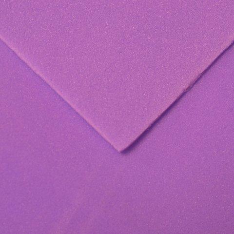 Шелковый фоамиран 25*25 см. Фиолетовый 51