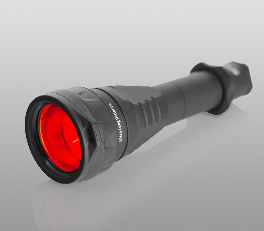 Красный фильтр Armytek для фонарей Predator/Viking - фото 3
