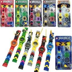 Детские наручные часы конструктор Ниндзяго