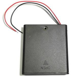 Закрытый батарейный отсек 4*АА (4х1) с выключателем
