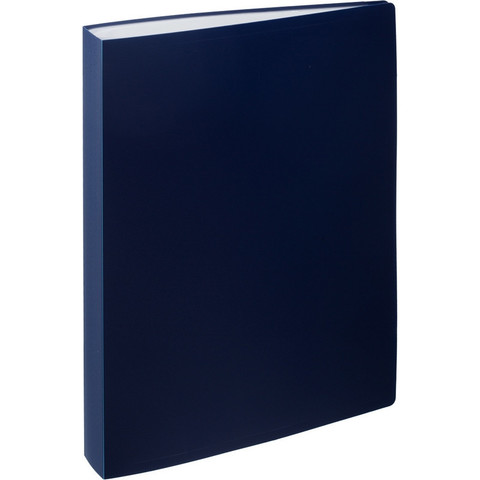 Папка файловая на 80 файлов Attache синяя