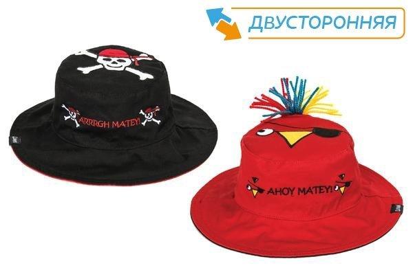 Панама Flapjackkids Пират/Попугай (Pirate/Parrot LUV0115M) М (2-4). Арт. 38500