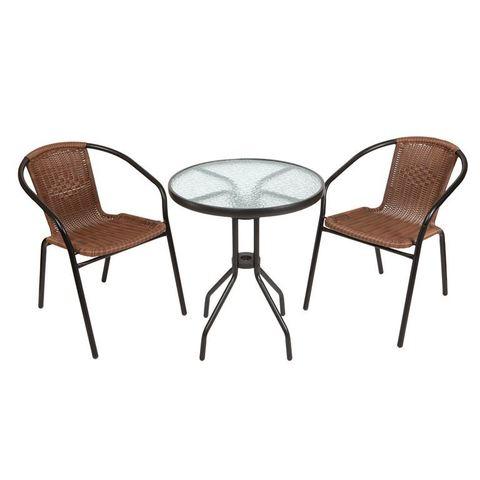Комплект кофейный Bistro (стол и 2 кресла), 210171