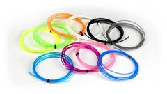 PCL пластик 100 метров (10 цветов по 10 метров) для 3D ручки