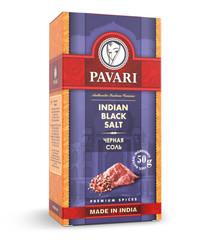 Pavari Indian Black Salt соль черная, Индия 50 г