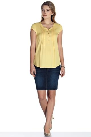 Блузка для беременных 08501 желтый