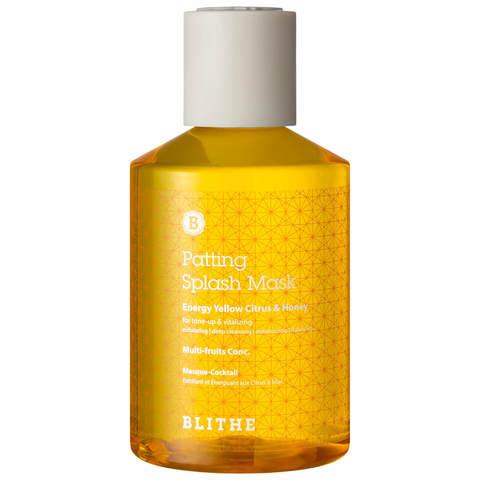Медово-Цитрусовая Сплэш-Маска Для Сияния BLITHE Energy Yellow Citrus&Honey Splash Mask