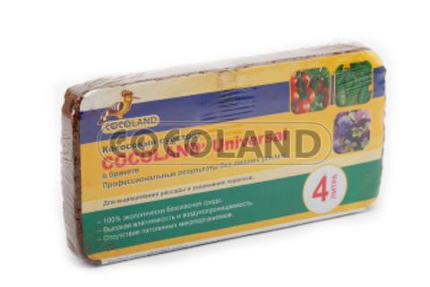 Субстрат кокосовый Cocoland Universal 4л