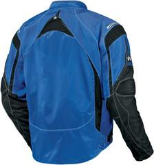 Мотокуртка - ICON CONTRA (текстиль, синяя)