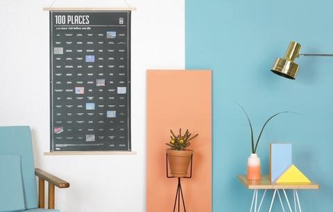 Постер «100 мест, которые нужно посетить прежде чем умереть»
