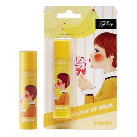 Fascy Lollipop BANANA Lip Balm банановый бальзам для губ