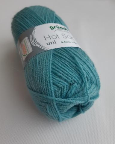 Пряжа для носков Gruendl Hot Socks Uni 50 (53)