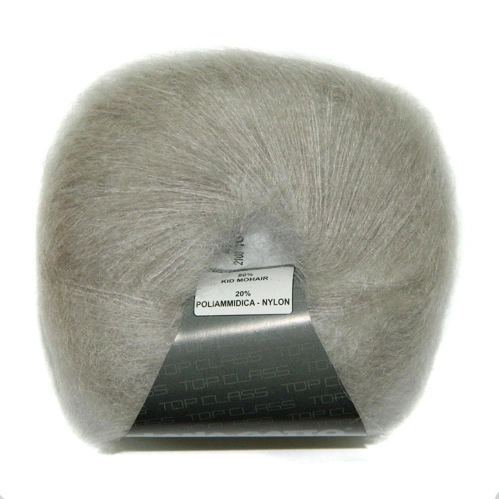 Пряжа Lana Gatto Mohair Royal 02103 светло-серый