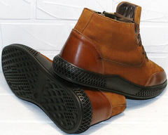 мужские зимние ботинки на меху
