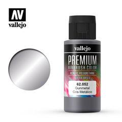 Premium color 60ml. 052-gunmetal
