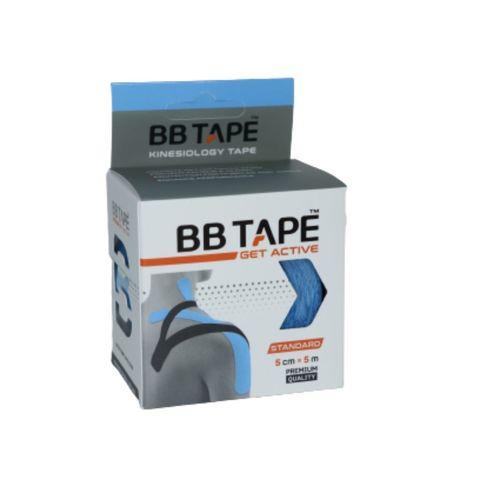 BBtape кинезио тейп 5см х 5м (голубой) NEW