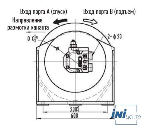 Лебедка свободного сброса IYJ4-60-93-21.5-L-ZPH3