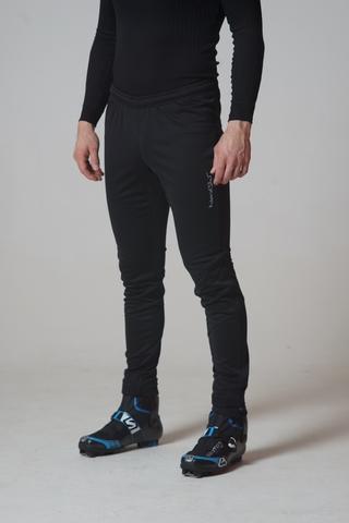 Мужские разминочные брюки Nordski Elite Black