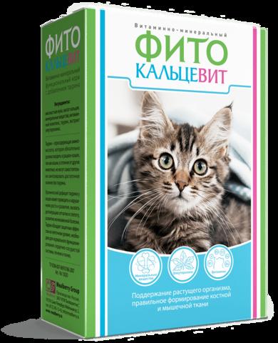 Фитокальцевит для кошек 250 г.