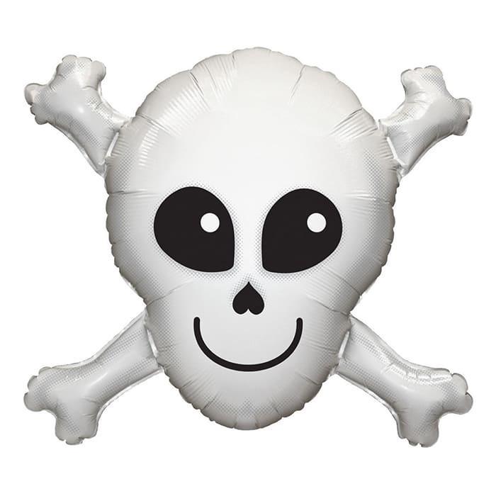 Череп с костями