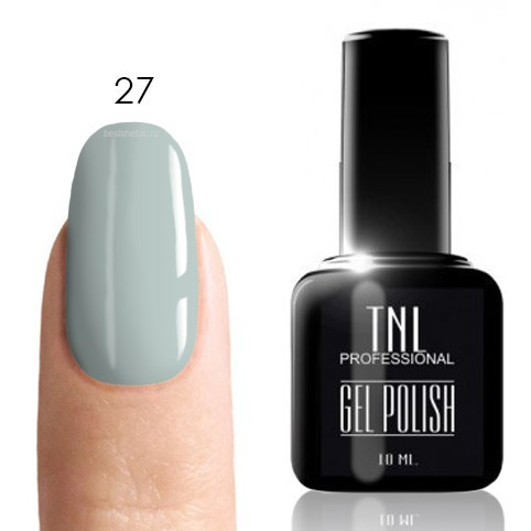 TNL Classic TNL, Гель-лак № 027 - ниагара (бледно-голубой) (10 мл) 27.jpg