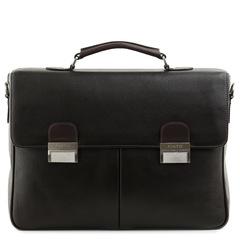 м61397 Fiato  кожа т.коричневый  (портфель мужской)