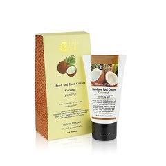 Крем для рук и ног с кокосовым маслом -