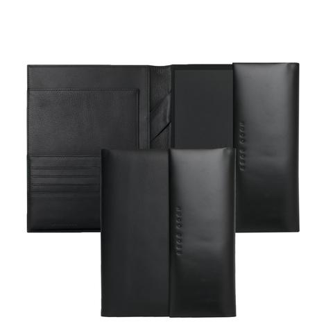 Конференц-папка A5 Hugo Boss Caption Contrast Black
