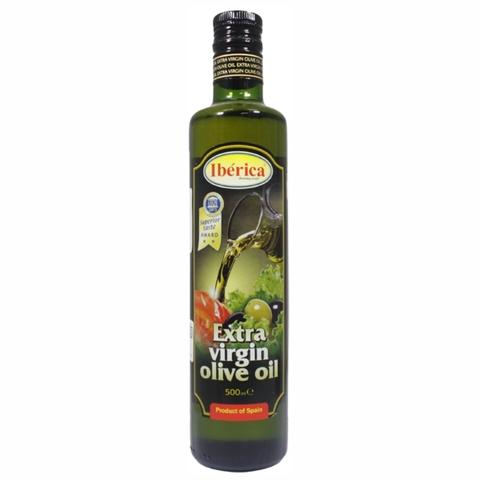 Масло оливковое IBERICA Extra Virgin 0,5 л ст/б Olive Line ИСПАНИЯ
