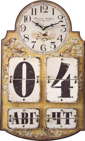 Настенные часы Михаил Москвин Часы-Календарь-3