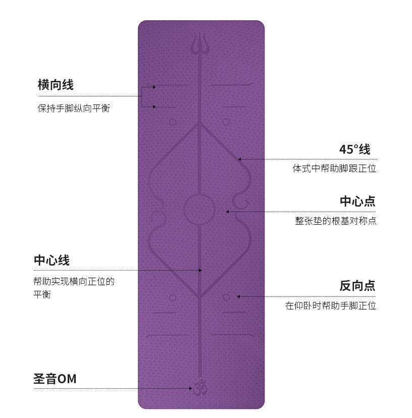 Фиолетовый трезубец