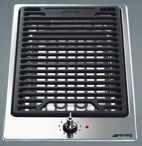 Электрический гриль-барбекю (домино) Smeg PGF30B