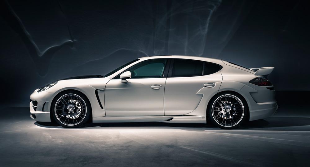 спойлер на крышку багажника Porsche Panamera 2010-2012г