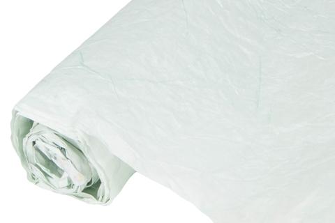 Бумага жатая эколюкс 70см х 5м мятная/серебро 13S