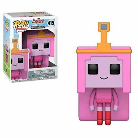 Princess Bubblegum Adventure Time - Minecraft Funko Pop! Vinyl Figure || Принцесса Жевачка