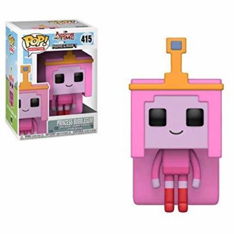 Princess Bubblegum Adventure Time - Minecraft Funko Pop! Vinyl Figure    Принцесса Жевачка
