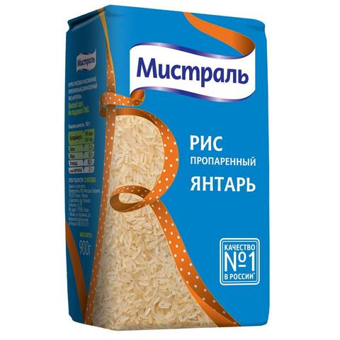 Крупа Рис МИСТРАЛЬ Янтарь, 900г