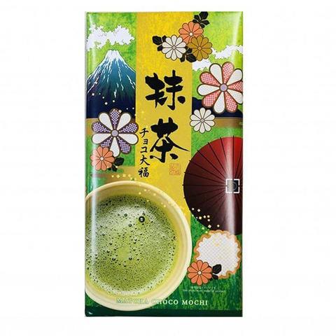 Моти дайфуку Kubota Seika с чаем матча и шоколадом 18 шт 310 гр