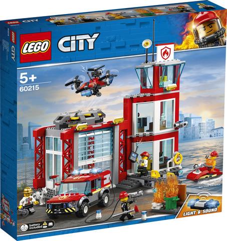 Konstruktor LEGO City Пожарное депо