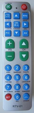 RTV-01 универсальный пульт для телевизоров.